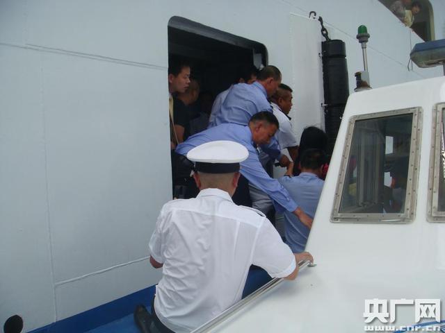 孕妇旅游船上突发大出血 丰都海事紧急救助