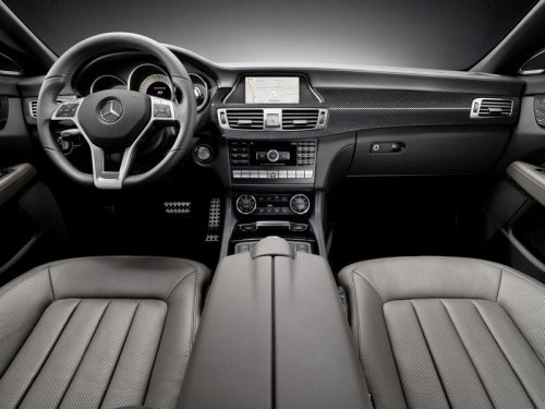 新一代奔驰slk内饰图曝光 采用轻度伪装高清图片