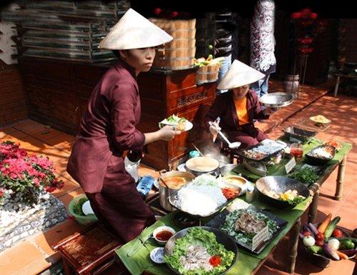 重庆洲际酒店越南美食节