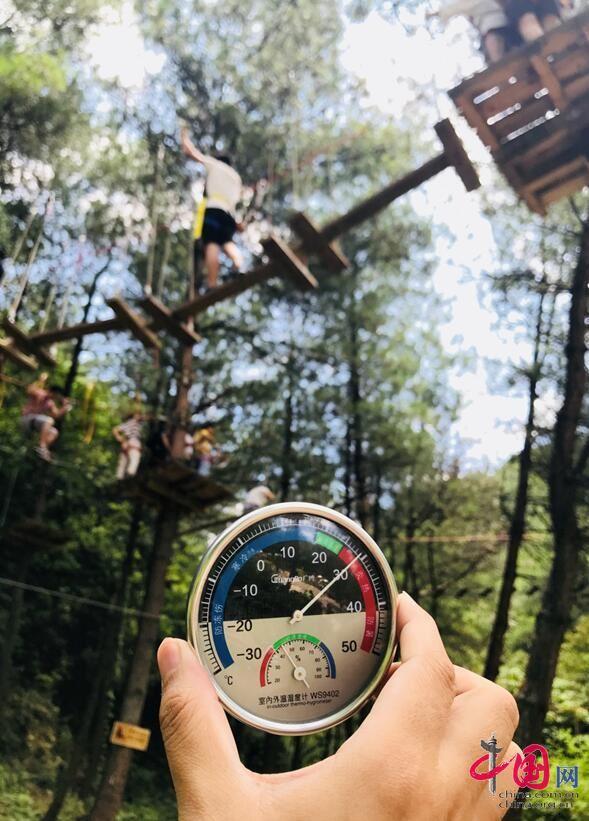 避暑去哪儿 重庆一网红景区温度实测不到15度