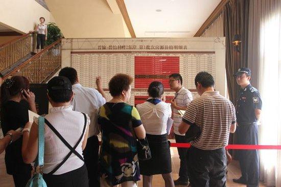 碧怡林畔2期东岸首次开盘售罄,揽金1.36亿