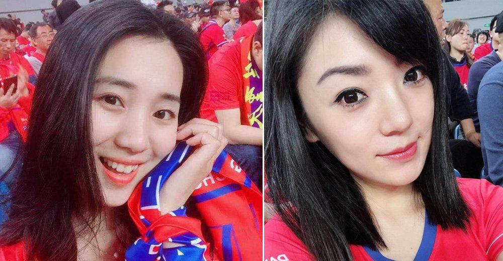 据说,重庆最漂亮的美女球迷都在这里了