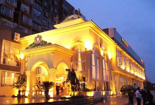 北碚区:骑龙绅士皇朝大饭店