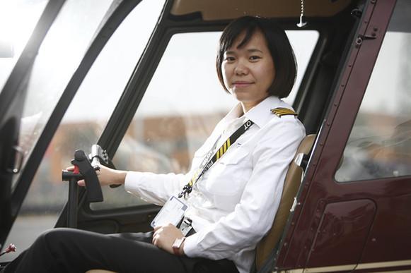 微视频:一个重庆女孩的飞行梦
