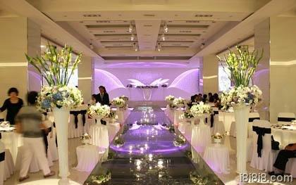 浪漫韩国婚礼现场布置