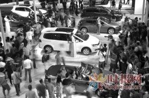 重庆车展昨揽金4.4亿 合资品牌占半壁江山