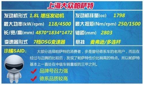 2013年1月热销中级车推荐 德系占据主导