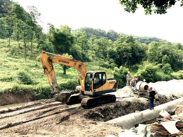 北碚:加快城市建成区污水管网建设