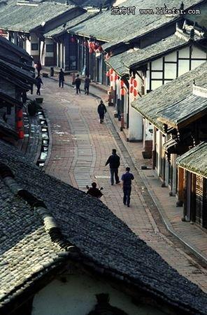 洛带古镇  洛带古镇是蕴藏于川蜀大地上的客家图片