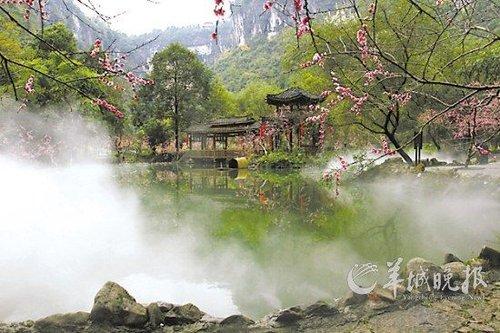 火炉边上觅清凉 重庆周边避暑胜地推荐(图)