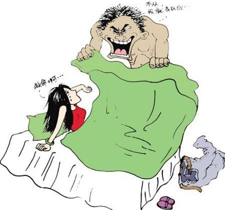少女 睡眠 手绘 漫画
