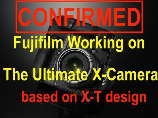 传富士正研发基于X-T系列外观终极APS-C相机