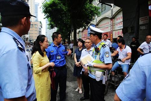 6月11日起至年底 渝中区朝天门地区交通秩序将严整