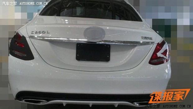 本月发布 奔驰国产新C260L低伪装谍照