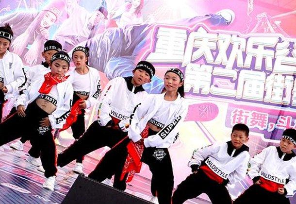 6岁潮童PK抖音网红 街舞大咖火爆斗舞
