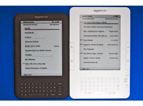 新老两款Kindle外观和性能大检阅