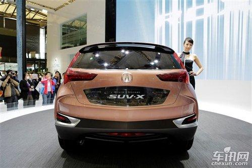 2013讴歌suv-x-即将量产SUV盘点 宝马X4跑车式SUV打头阵图片