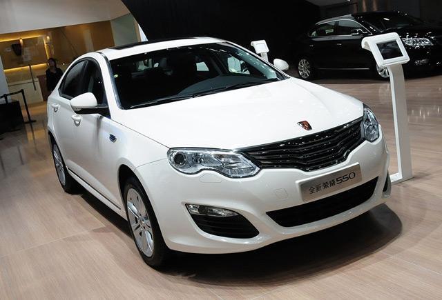 [新车上市]荣威550两款新车型售12.68万起
