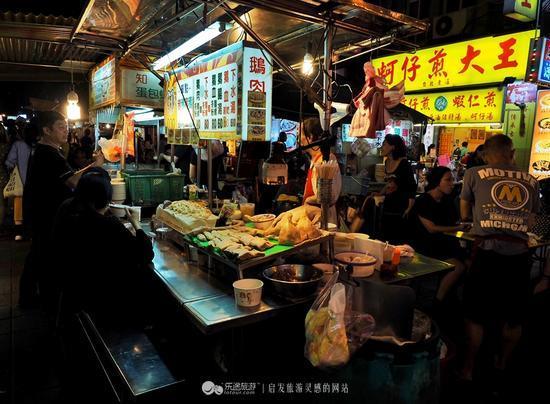 美食大搜罗:千万不能一个人去台湾夜市