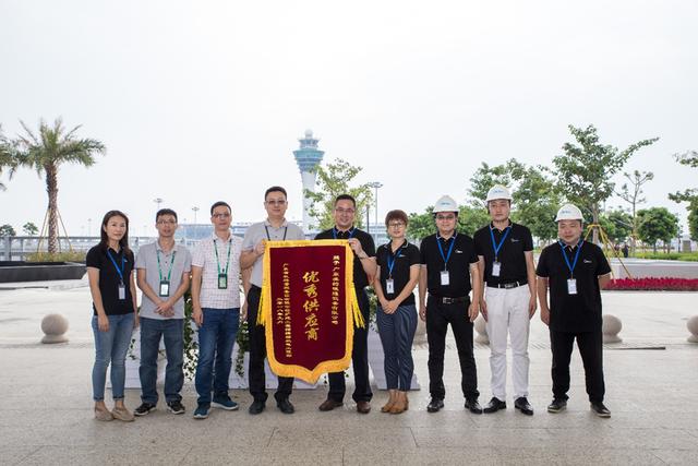 """再获美誉!美的中央空调获广州白云国际机场T2项目""""优秀供应商"""""""