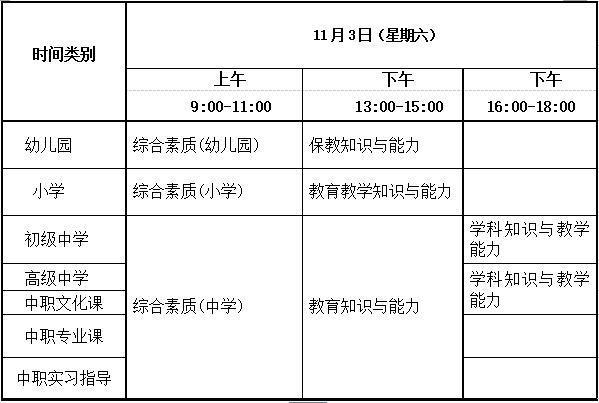 2018年下半年中小学教师资格考试(笔试)报名相关事项公告