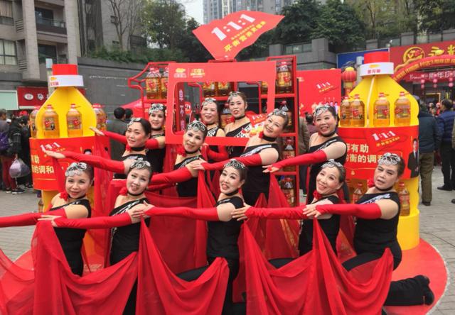 """金龙鱼广场舞大赛引爆山城 各大赛区高手频出称霸""""舞林""""!"""