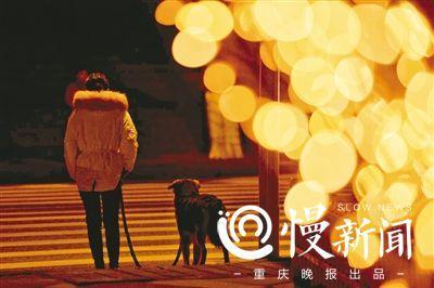 渝中区迎春灯饰昨晚亮灯 瞬间刷爆朋友圈