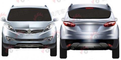 长安首款SUV车型详解 或亮相上海车展