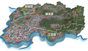 两江新区规划10大聚居区 来评谁是第1居住区