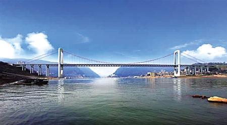 郭家沱长江大桥上跑汽车下走8号线 今年动工开建图片