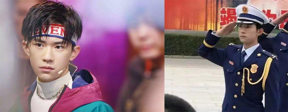 """易烊千玺正式入选校队""""国旗班"""",证件照曝光,让人心动的少年"""