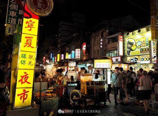 美食大不一:千万搜罗个人去台湾夜市_大渝网虾美食作南宁市图片