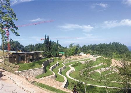 营造田园村落场景 重庆首个乡建公园有望年底迎客