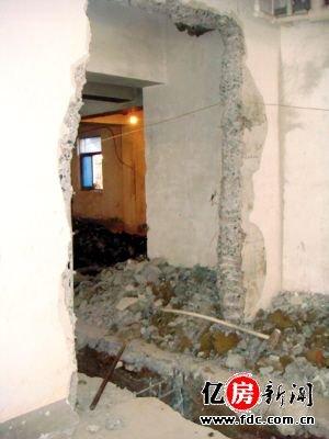 """装修帮帮忙 家装中关于墙体不可吃的""""恶果"""""""