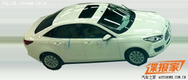 即将发布 长安福特Escort量产版实车图