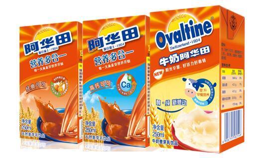 康师傅携手国际知名品牌阿华田 发力营养乳饮市场