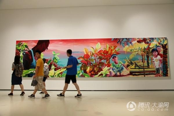 """""""风华正茂""""青年美术家作品展亮相川美 市民可免费看展"""