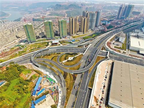 两江新区:礼嘉商务区路网初显