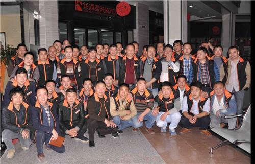 5月14日华浔举办工匠风尚大典活动