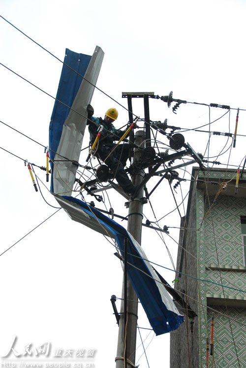 特强风雹致渝电损失逾3000万 灾区或全部亮灯