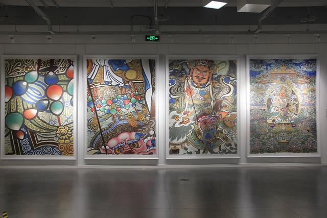 国内首个琥珀画专题艺术展在重庆举行