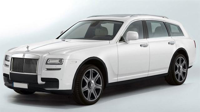 [海外车讯]劳斯莱斯首款SUV最新效果图曝光