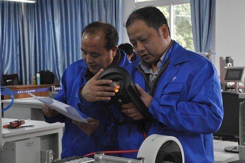 职业技能大赛机电一体化项目比赛现场