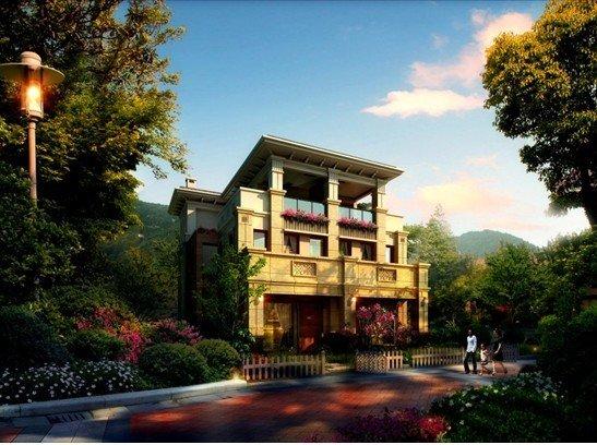 贝蒙天地9.16示范首发126万起买大学城创意别墅