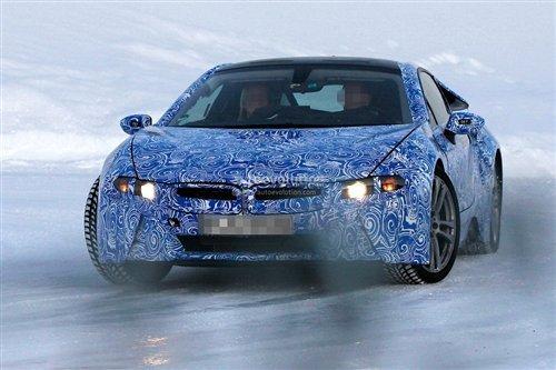 宝马i8量产车型谍照曝光 或2013年发布高清图片