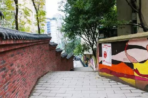渝中区竟藏着这样一条神秘步道