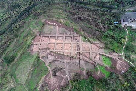 """钓鱼城考古有重大发现 南宋合州""""办公区""""或在范家堰"""