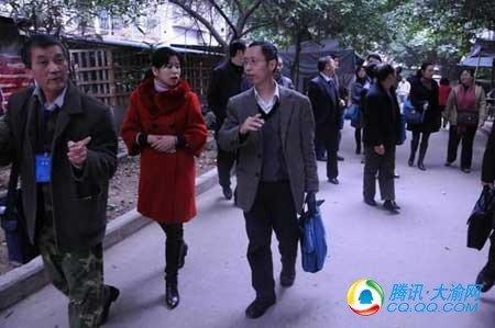 国家人普事后质量抽查小组到江北进行质量抽查