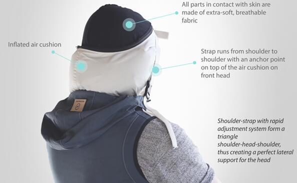 穿这件帽衫 经济舱也能睡出头等舱的感觉
