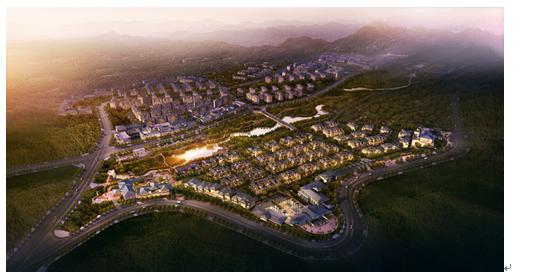 南山郡为城市塔尖阶层提供顶级城市山居生活